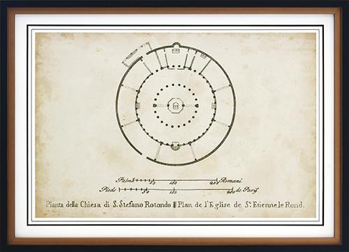 Plan For St. Stephen's Rotunda