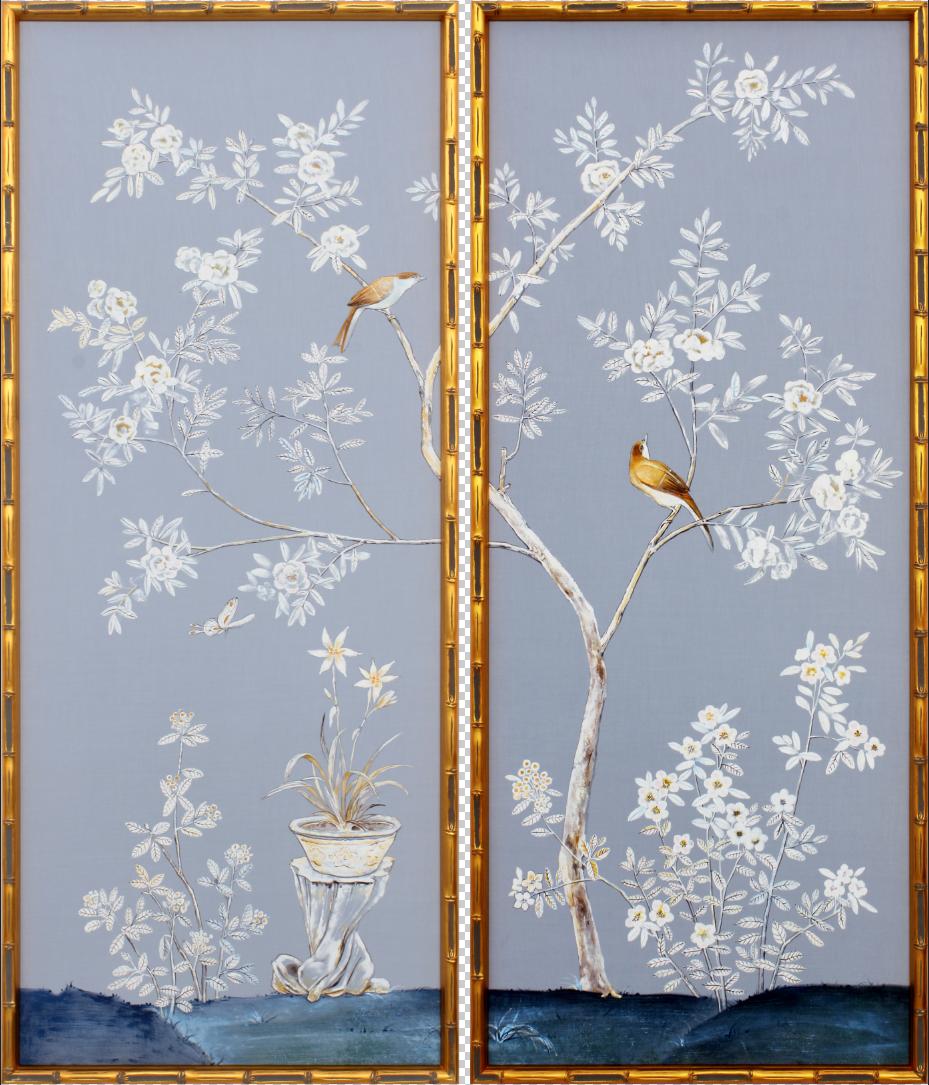 Flowers & Birds I