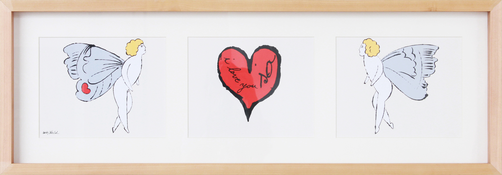 I Love You So, c. 1958 (Triptych)