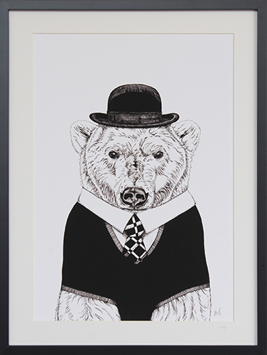 A Bear With A Hat