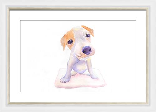 Watercolor Animals Painting III