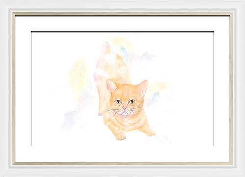 Watercolor animals painting I