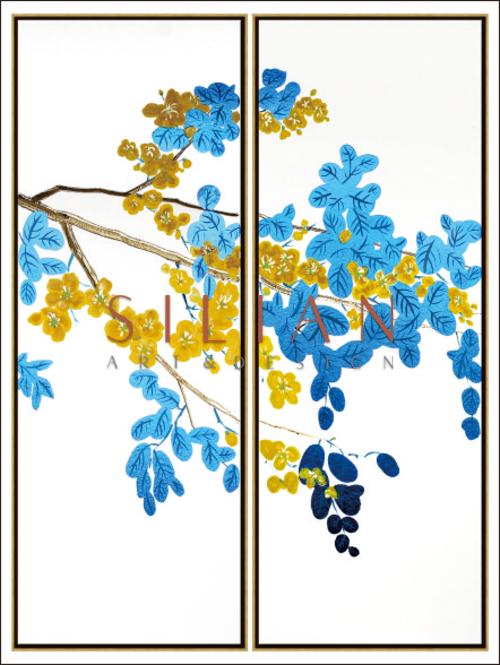 Flowering Vines I