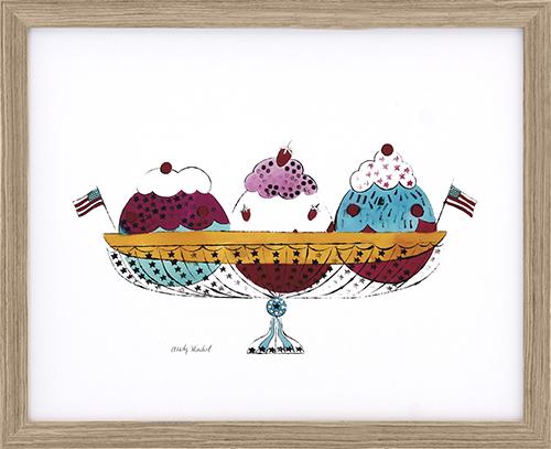 Ice Cream Dessert, c.1959 (3 scoop)