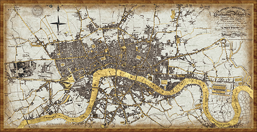 Classical London Planning Map
