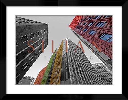 Colored Building III