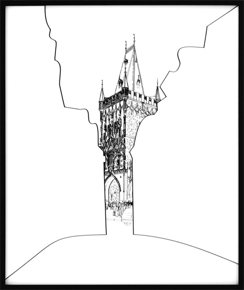 Architectural Sketch III