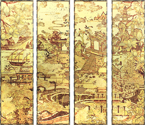 Chinoiserie Landscape