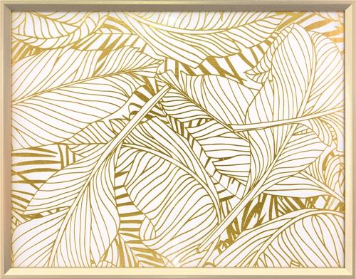 Golden leaves IV