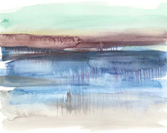 Burgundy Horizon II