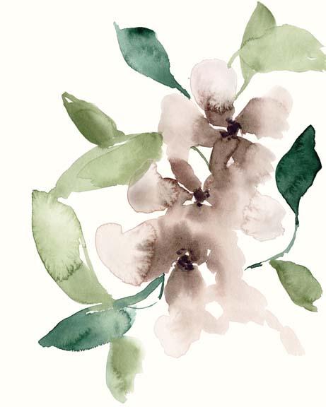 Mauve Flowers I