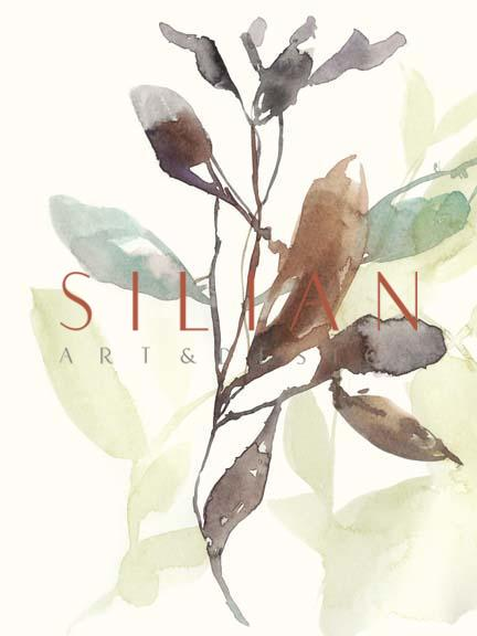 Rusty Sienna Leaves I