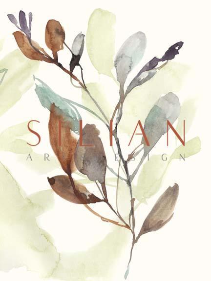 Rusty Sienna Leaves II