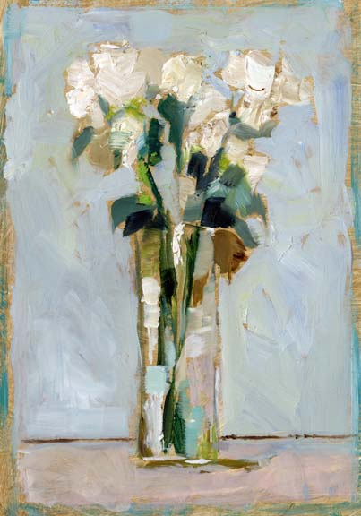 White Floral Arrangement II