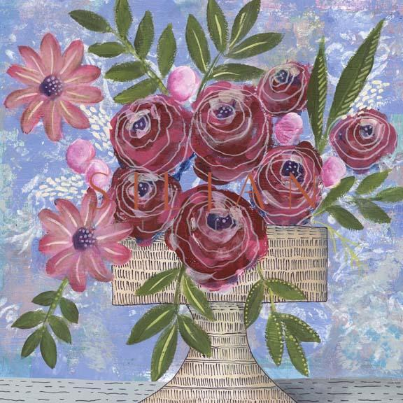 Rosa Bouquet I