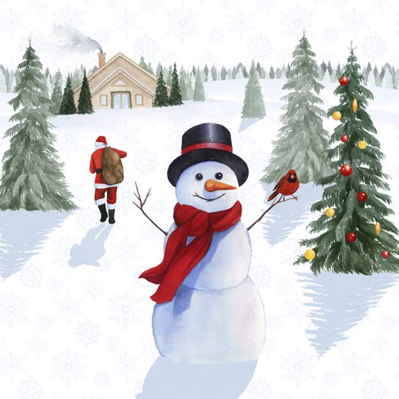 Santa's Snowmen I