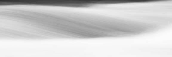 Black & White Water Panel IX