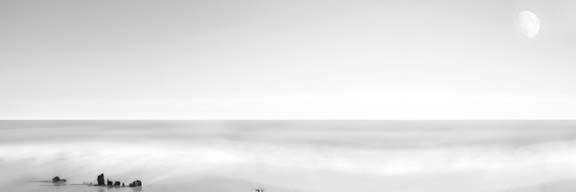 Black & White Water Panel XIV