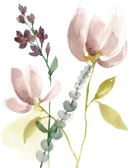 Pastel Flower Composition I