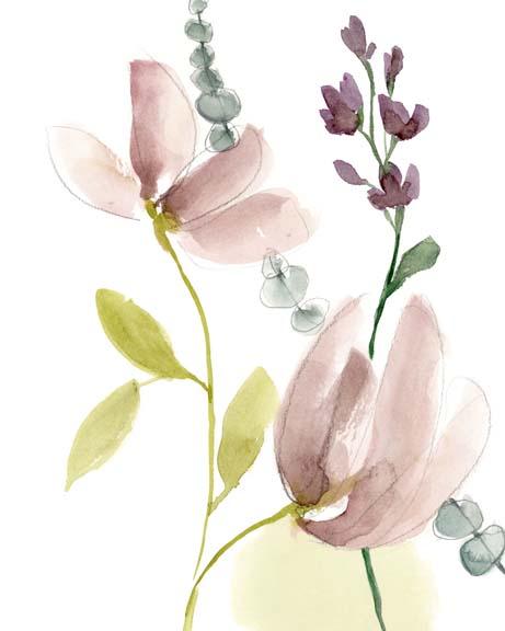 Pastel Flower Composition II