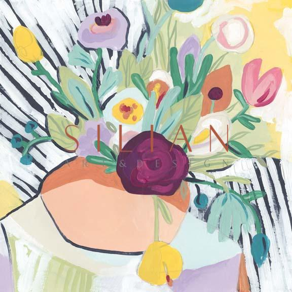 Fauvist Floral II