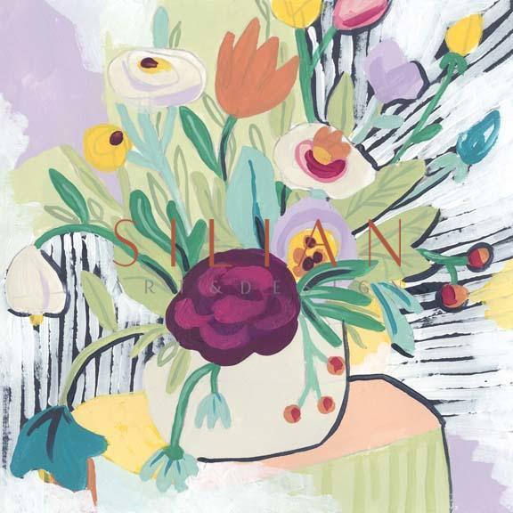 Fauvist Floral I