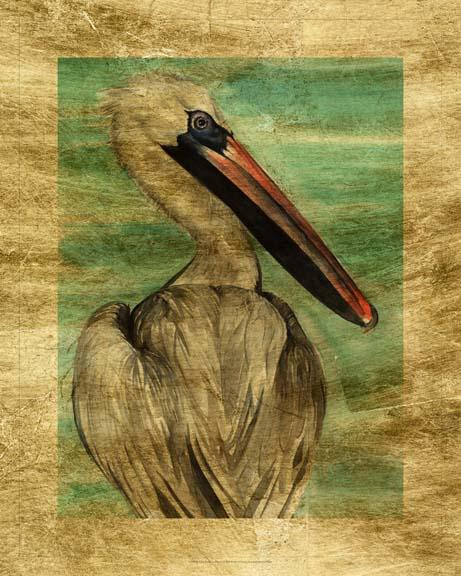 Lustr Turquoise Pelican I