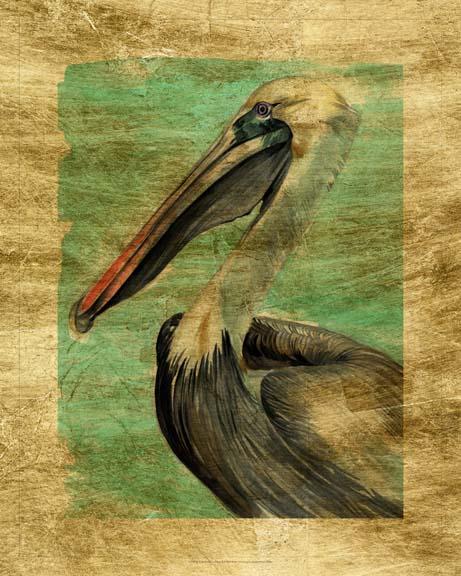 Lustr Turquoise Pelican II