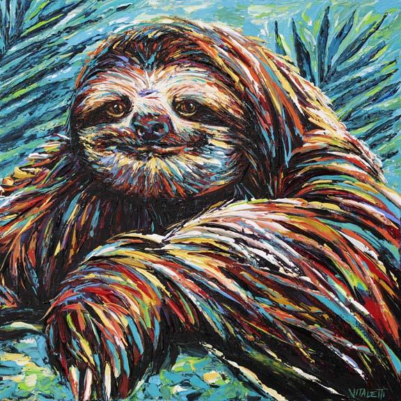 Painted Sloth I