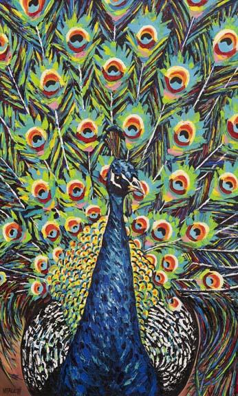 Lavish Peacock II