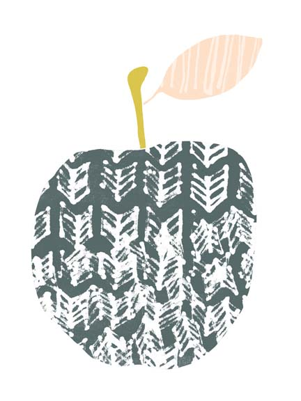 Cut Paper Fruit II