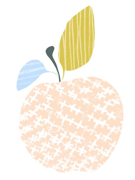 Cut Paper Fruit III