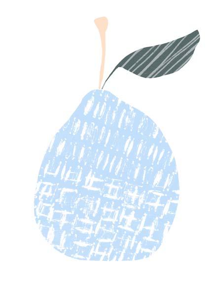 Cut Paper Fruit IV