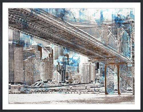 Abstract Sydney Bridge