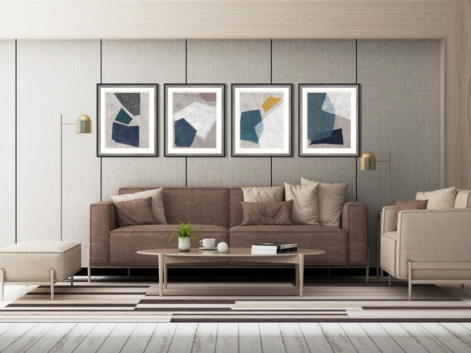 Dazzling Geometric Art<br> That Will Infuse Your Home With Class!