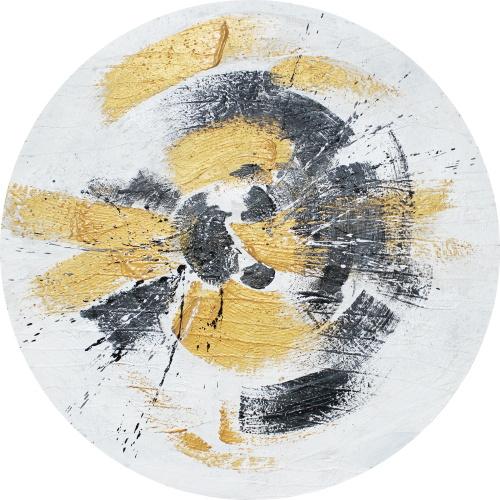 Yellow & Black Rounds II