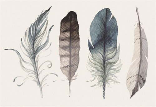 Tribal Feather I