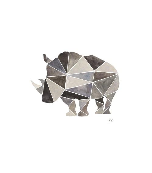 Graphic Combination Of Animals VII