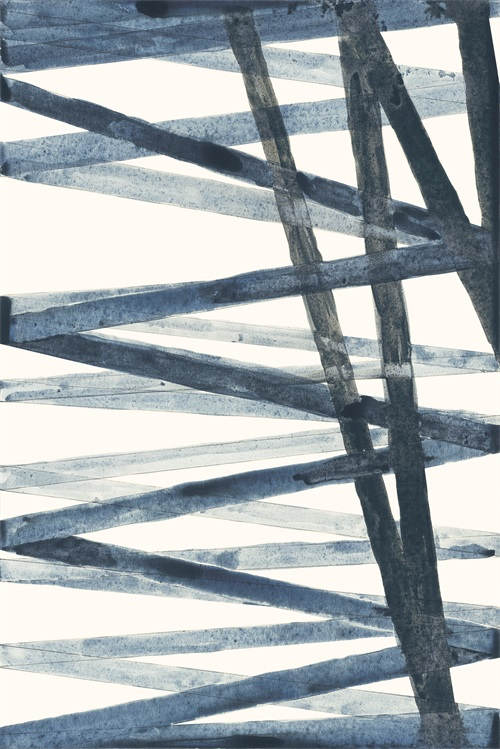 Watercolor Weave II