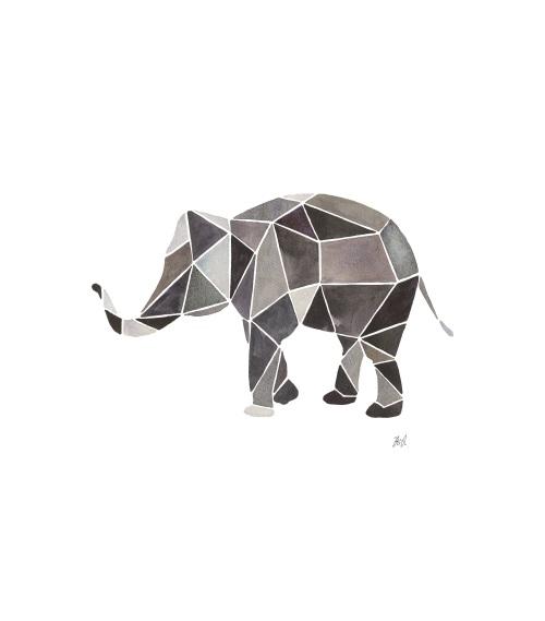 Graphic Combination Of Animals VIII