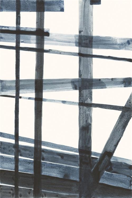 Watercolor Weave VI