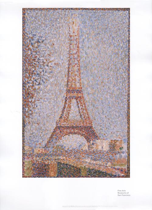 Eiffel Tower, Ca. 1889