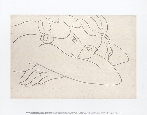 Young Woman with Face Buried in Arms, 1929
