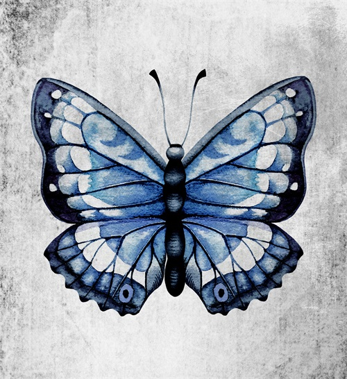 Blue Butterfly Ⅲ