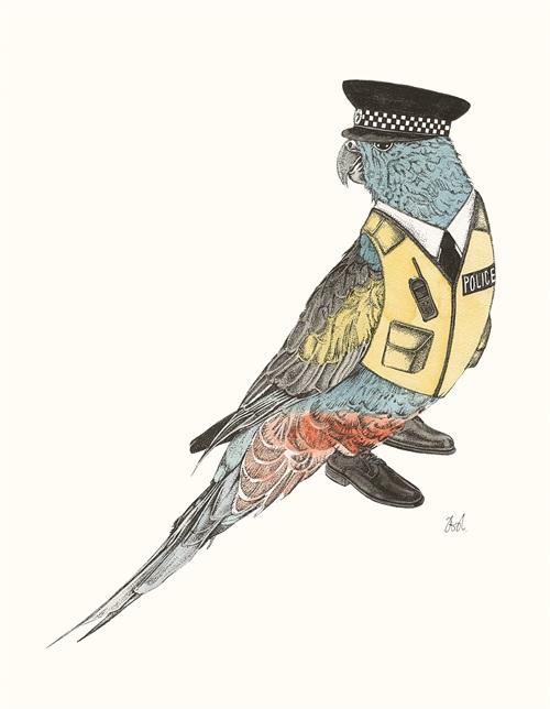 Bird Police Officer II