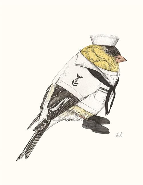 Bird Police Officer I