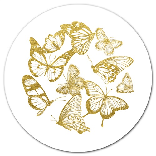 The Golden Butterfly I