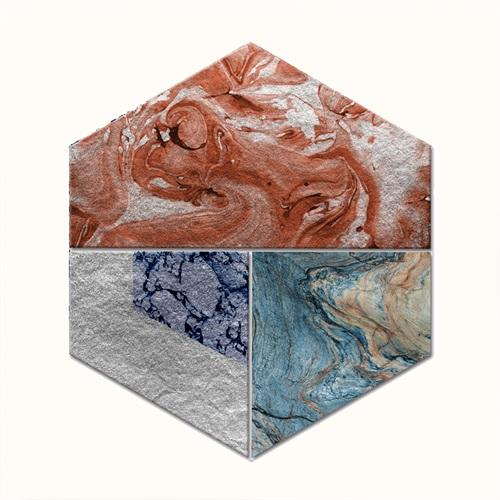 Mottled Hexagon Ⅱ