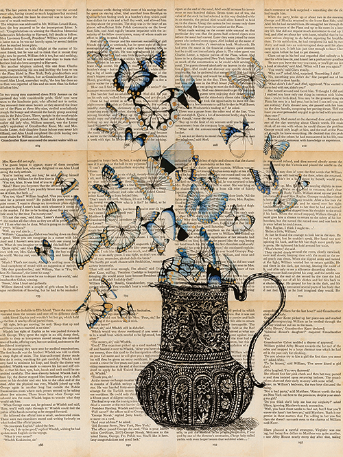 Utensils And The Butterfly V
