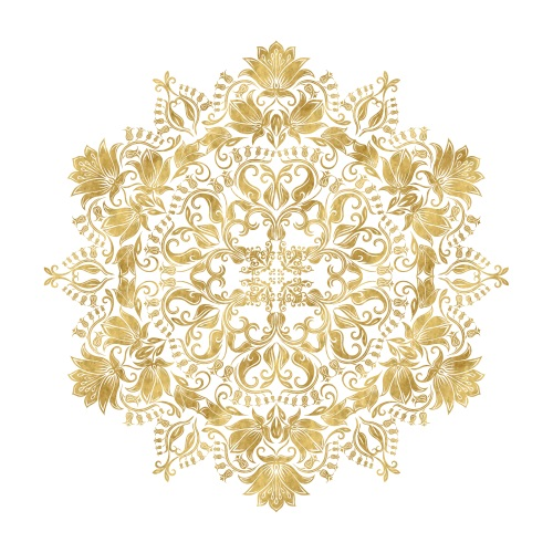 Golden Mandala IV